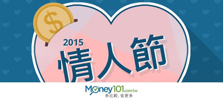 【INFOGRAPHIC】2015情人節 花小錢也浪漫