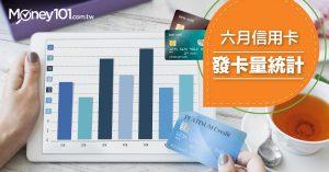 【信用卡情報】2017 年六月信用卡統計及簽帳金額分析