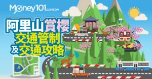 2019年阿里山櫻花季!賞櫻交通攻略與交通管制總整理及加油信用卡