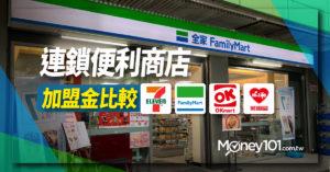 創業加盟 7-11、全家、萊爾富、OK超商 四大連鎖便利商店加盟金比較